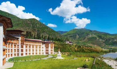 Le-Meridian-luxury-hotel-paro-bhutan